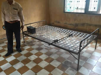 Cells where prisoners where kept and tortured