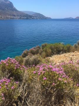 Hiking hidden trails in Kalymnos