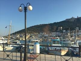 Main port of Kalymnos