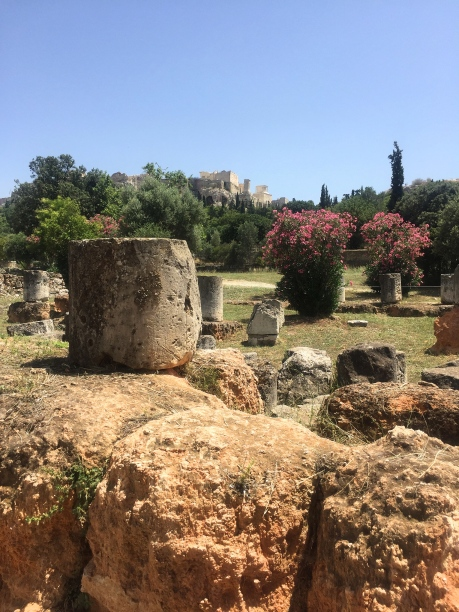 Ruins in the Ancient Agora