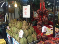 Fruit stalls in China Town