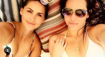 me and tessa perisa beach