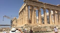 More of the Parthenon
