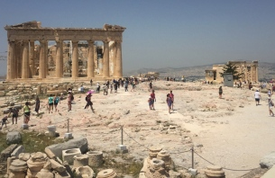 The Parthenon and The Erechtheum