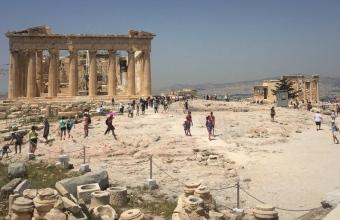 The Parthenon and The Erechtheum