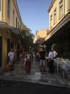 Pedestrian Streets of Plaka