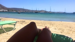 Livadia Beach.
