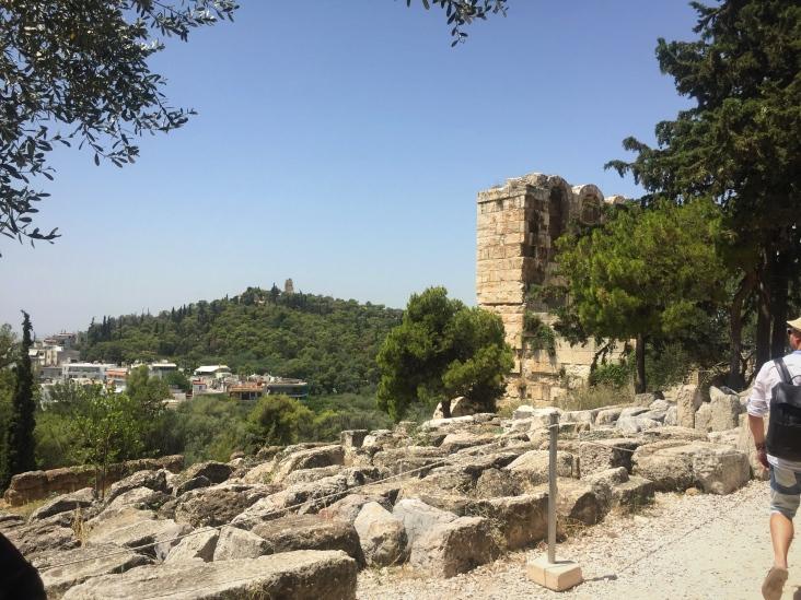 View of Filopappou Hill