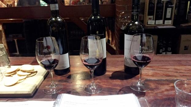 Peter Lehmann wine tasting