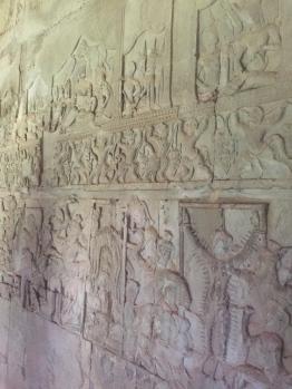 Ankor Wat Walls