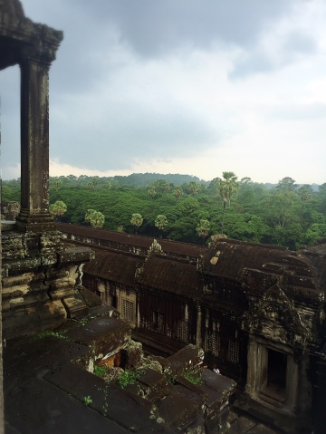 view from Ankor Wat